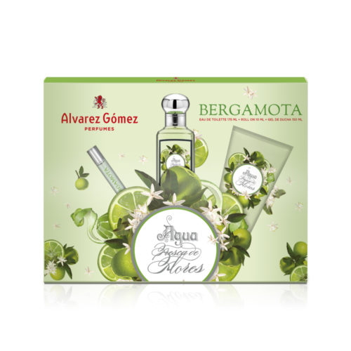 Estuche Alvarez Gómez Bergamota 175 ml + Gel de baño 150 ml + Roll On