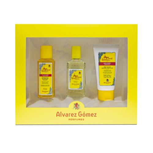 Estuche Alvarez Gomez Agua de Colonia 80 ml + Gel de baño 90 ml + Emulsión 75 ml